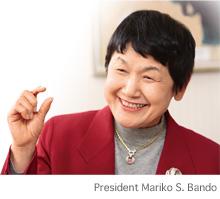 President Mariko S. Bando